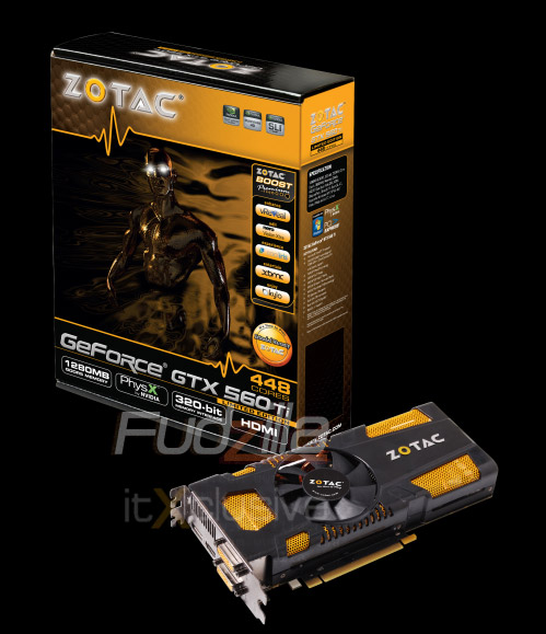 Zotac GeForce GTX 560 Ti 448