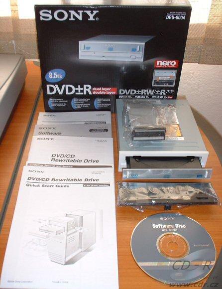 Sony DRU-800A/DRX-800UL ODD Linux
