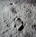 Apollo 11, otisk boty