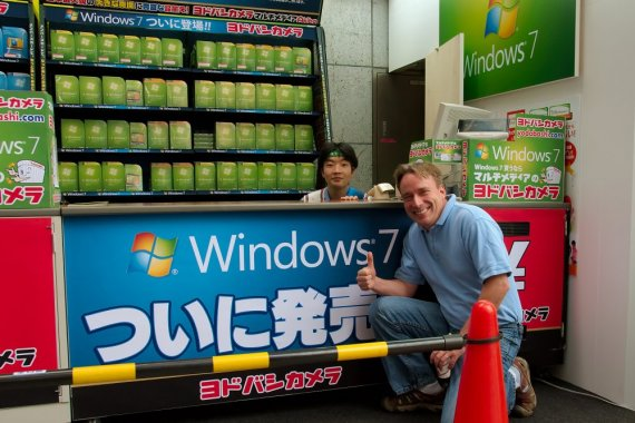 Linus Torvalds a Windows 7