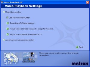 Matrox TV-Out driver