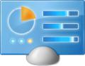Ikona ovládacích panelů ve Windows 7