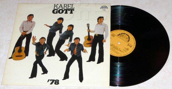 Karel Gott - gramofonová deska