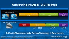 Intel Atom roadmap 14nm