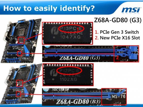 MSI Gen3 Motherboards - How to easily identify?