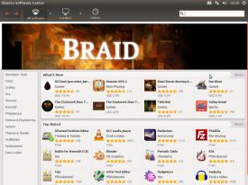 Ubuntu 11.10, Centrum softwaru