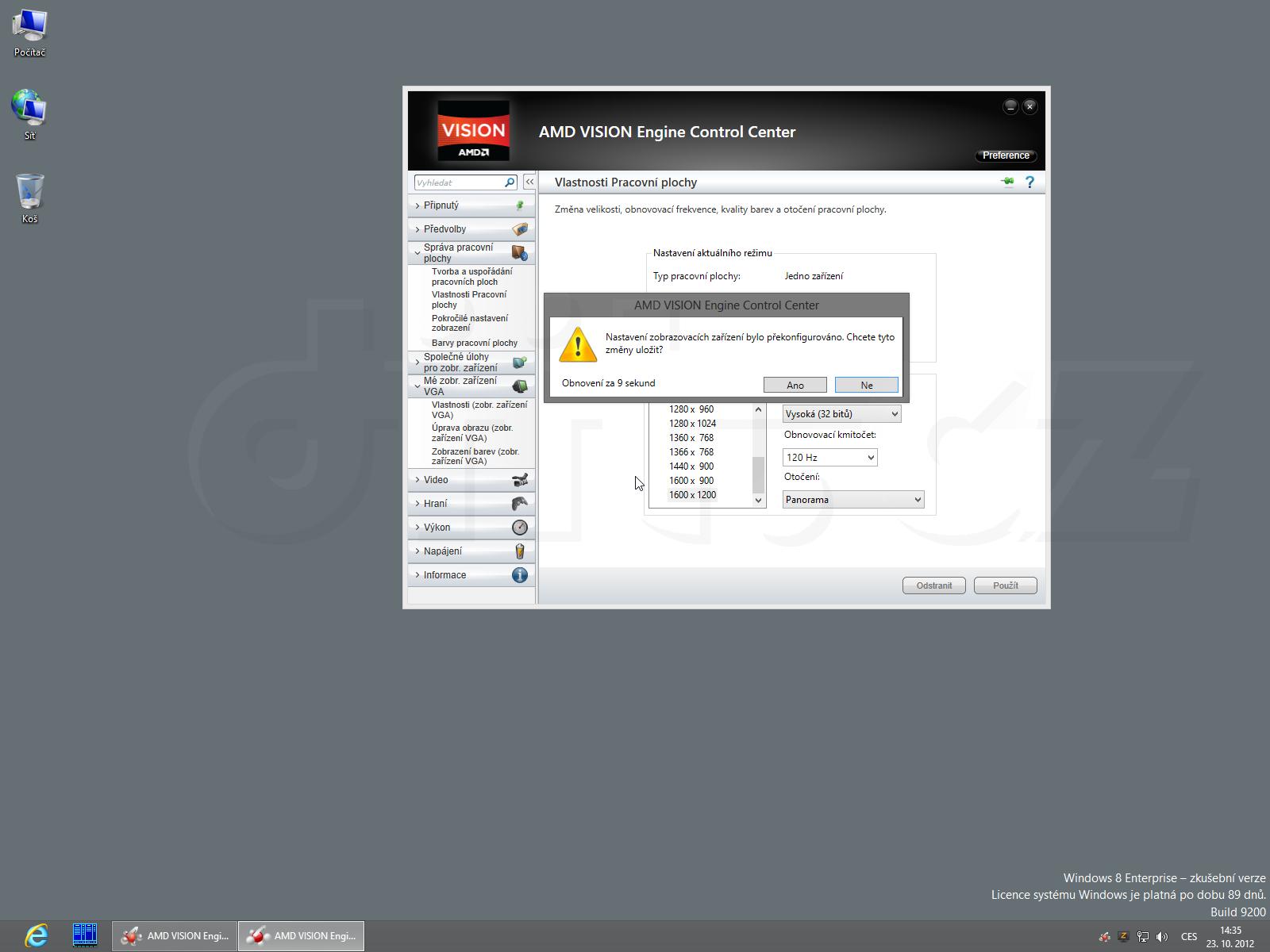 AMD Radeon HD vs  CRT monitor a 60 Hz - A co monitor bez EDID/DDC