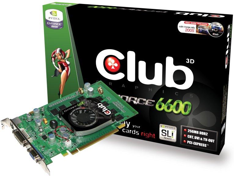 club 3d geforce 6600 gt