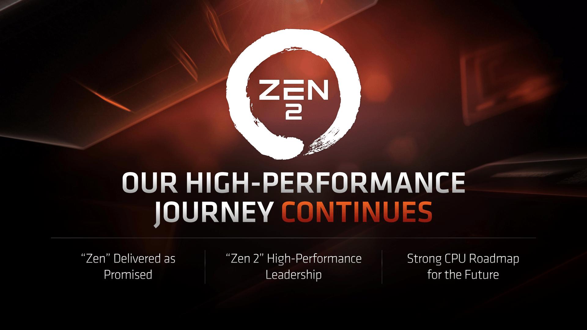Procesorová roadmapa AMD nevylučuje možnost Zen 2 plus | Diit cz