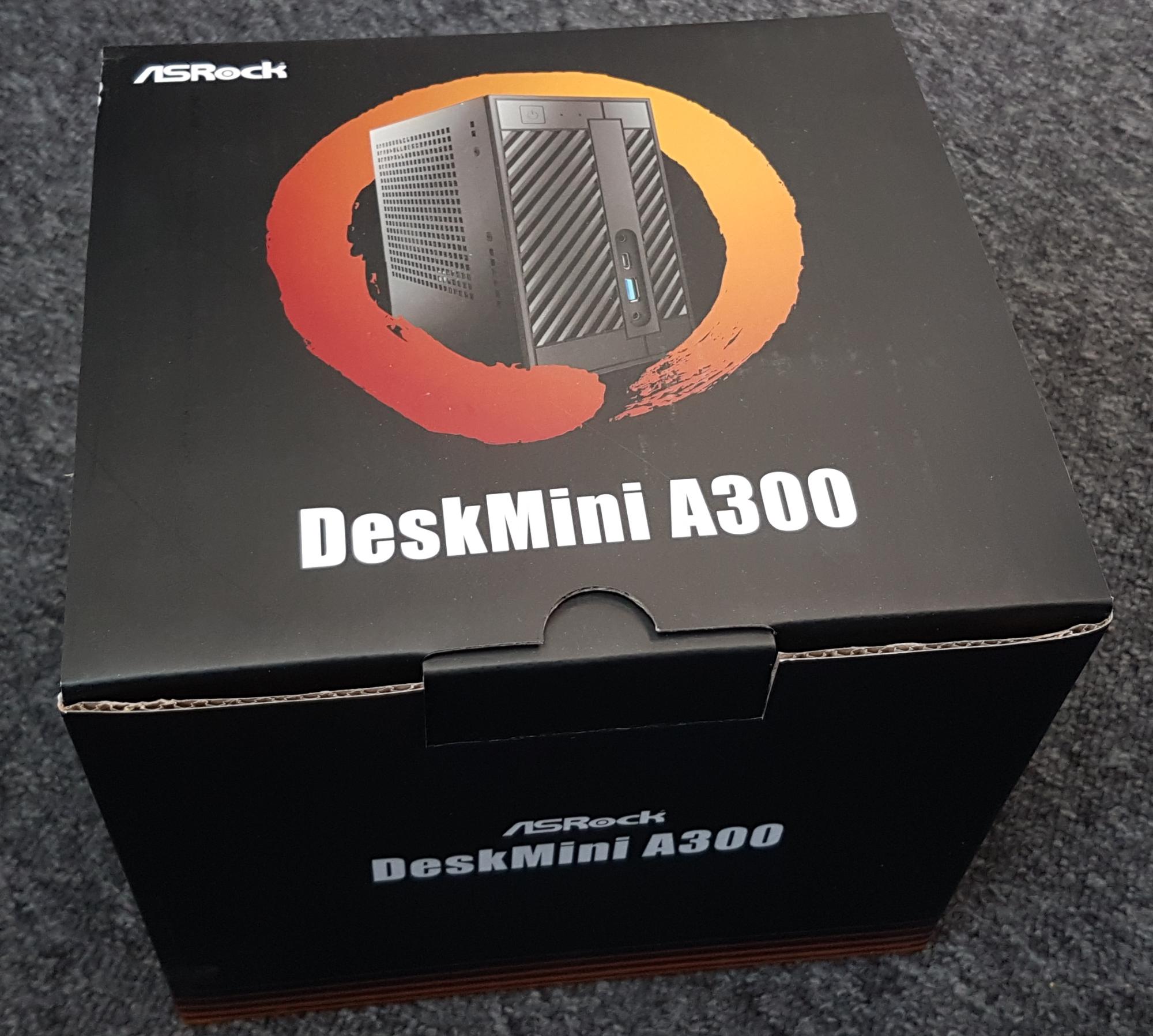RECENZE: ASRock DeskMini A300 - AM4 v malé krabičce - Představení