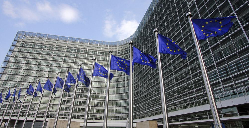 Sídlo Evropské komise v Bruselu. Ještě by to chtělo rudou hvězdu na střechu...