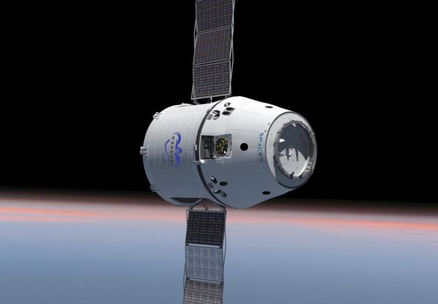 SpaceX Dragon na orbitě