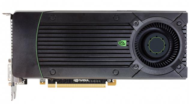 Nvidia GeForce GTX 670 front