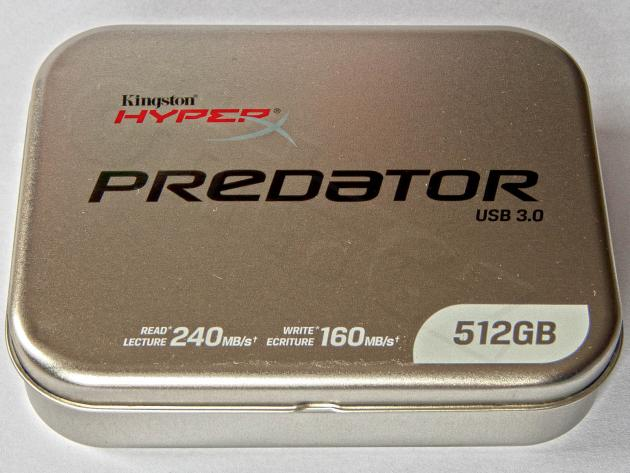 Kingston HyperX Predator 512 GB - krabička