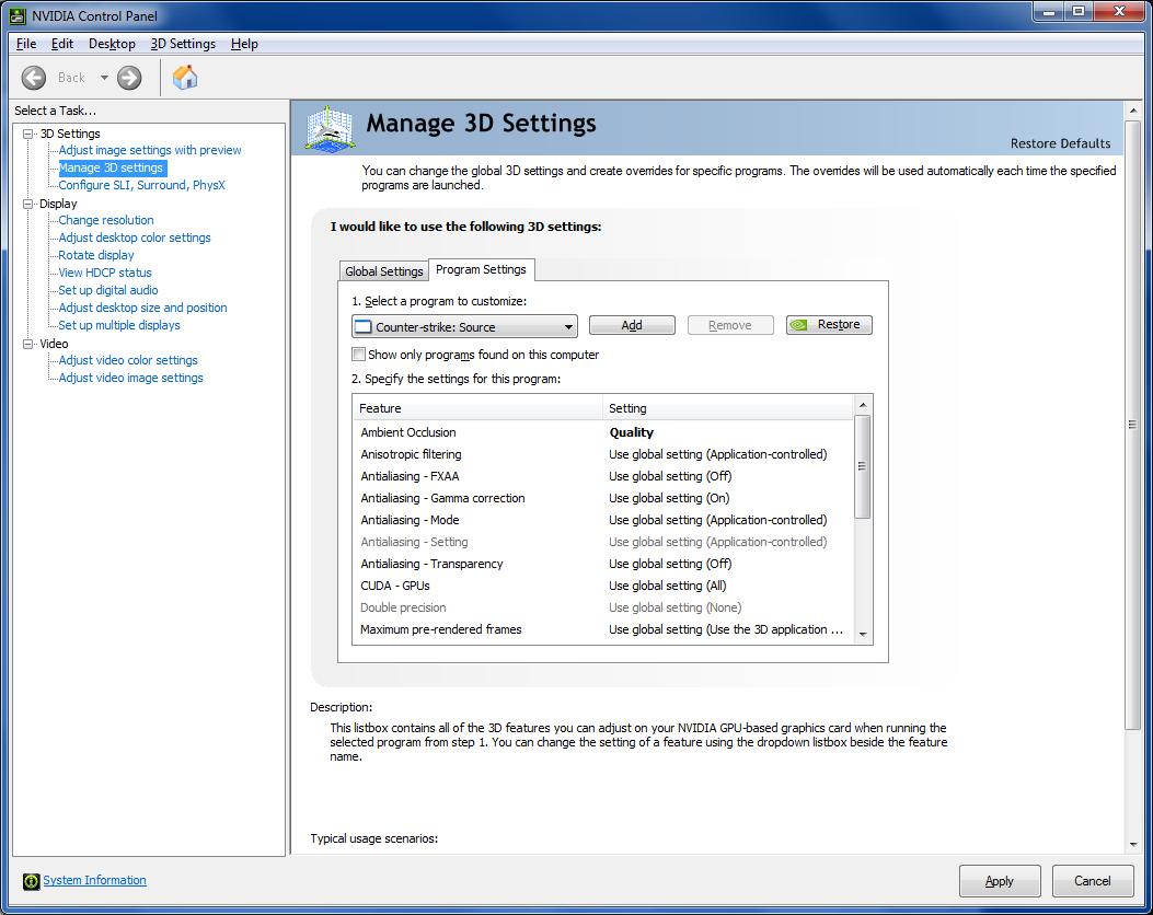 94212d21d GeForce 331.40 Beta: Ambient Occlusion všude a raná podpora ...