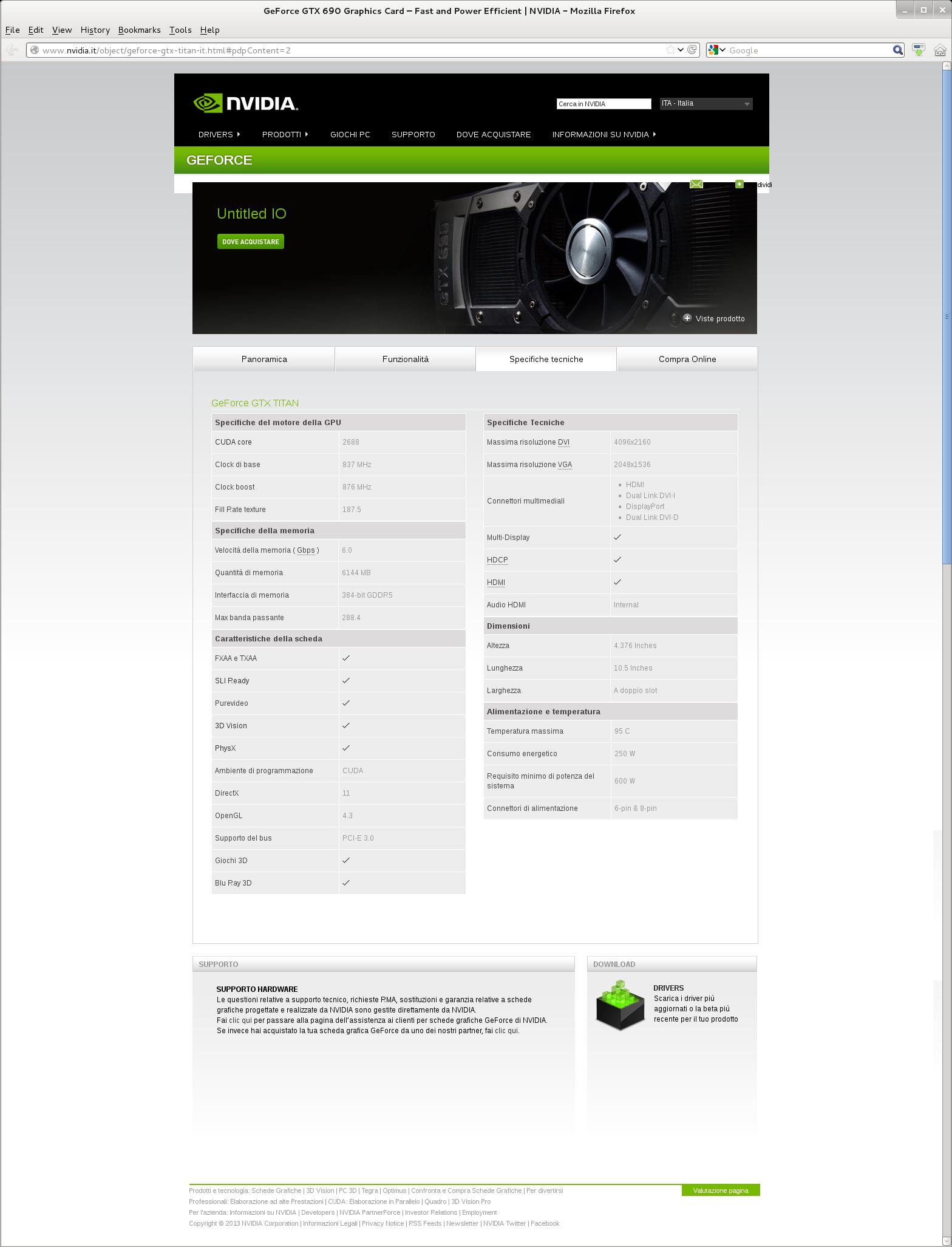 10f3d201f Parametry Nvidia GeForce Titan | Diit.cz