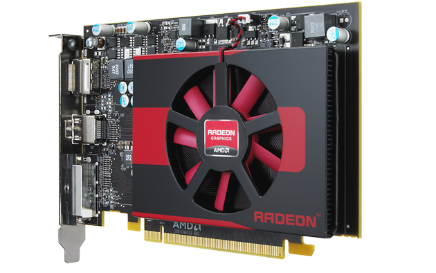 AMD Radeon HD 7750 rear