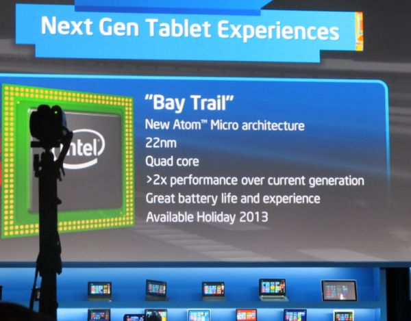 Intel Bay Trail Atom