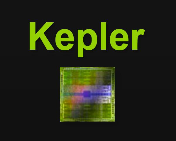 Nvidia Kepler logo velké