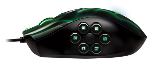 Razer Naga Hex hexagon view
