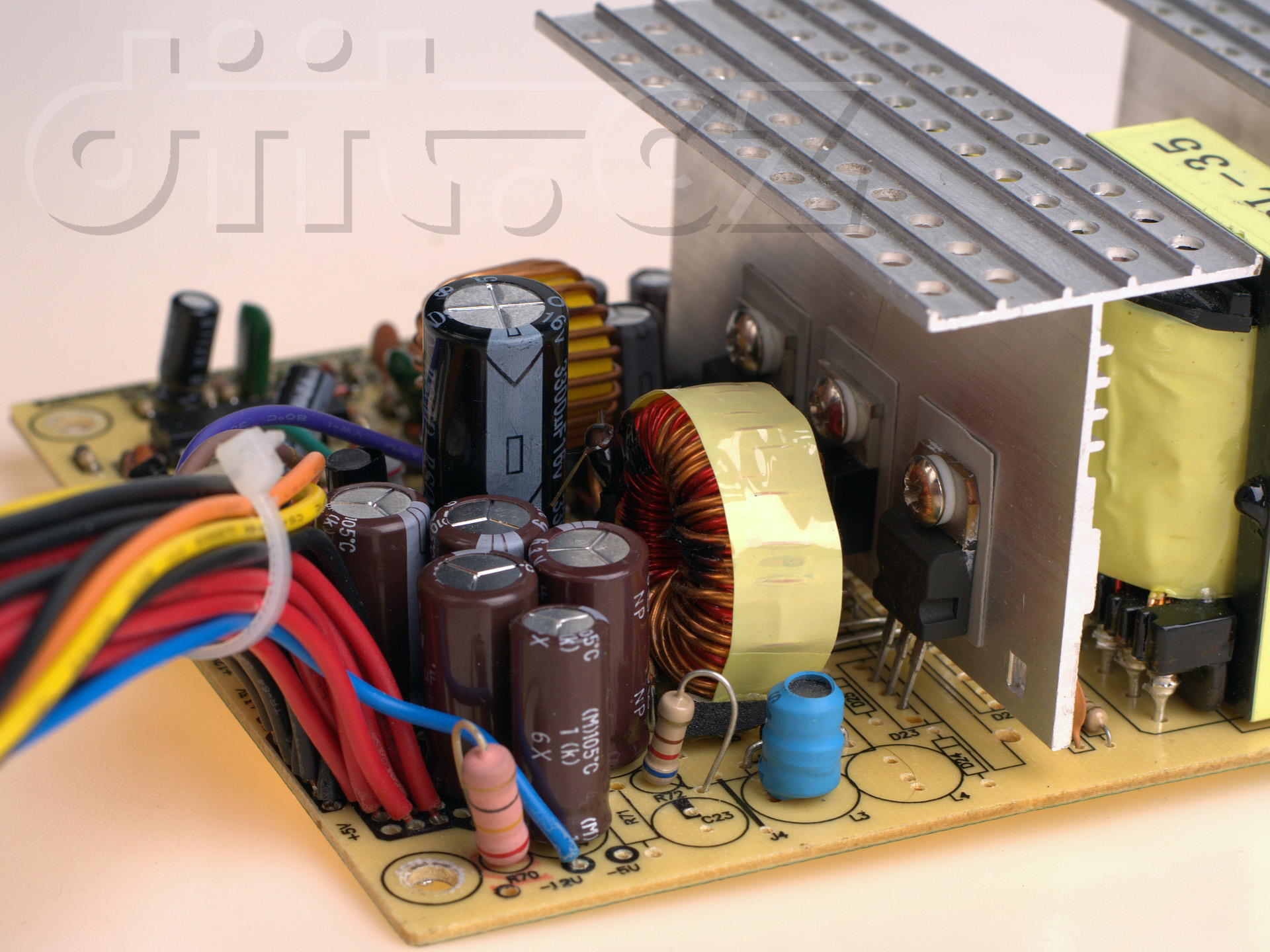 Badcaps Forums - Power supply build quality pictorial. part 2