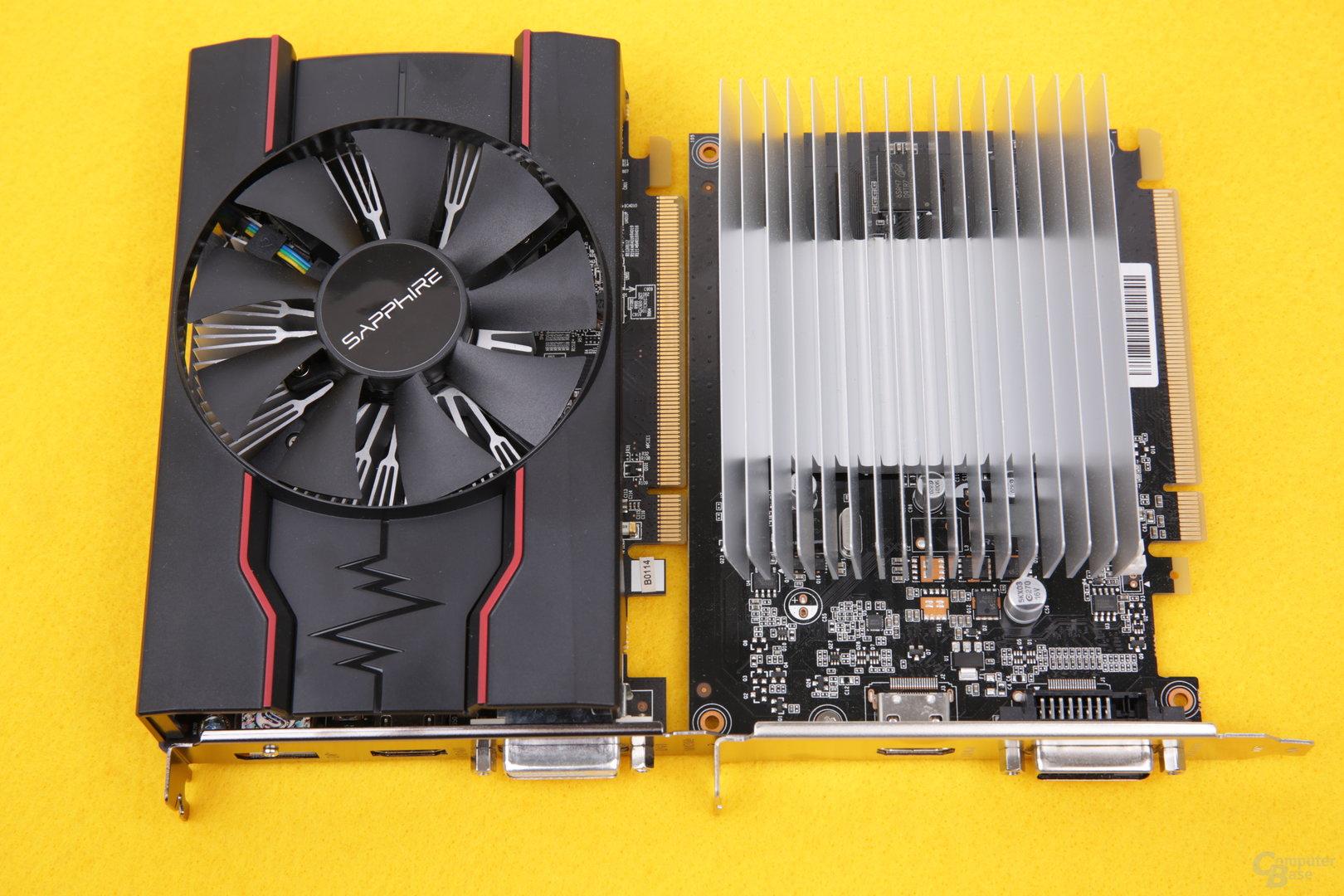 Radeonu RX 550 a GeForce GT 1030 | Diit cz