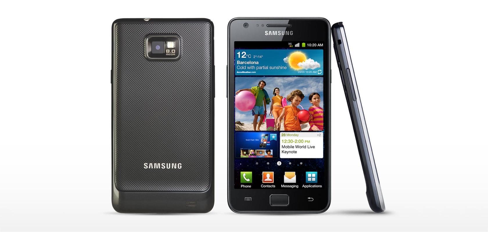 samsung galaxy s ii i9100 с андроид 4