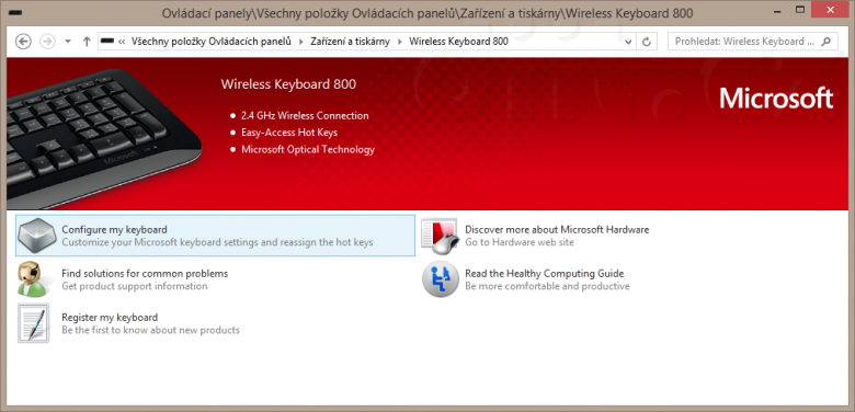 01 Zarizeni A Tiskarny Wireless Keyboard 800