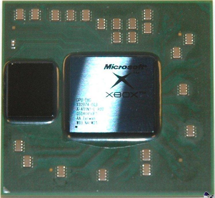 90nm GPU ATI Xenos