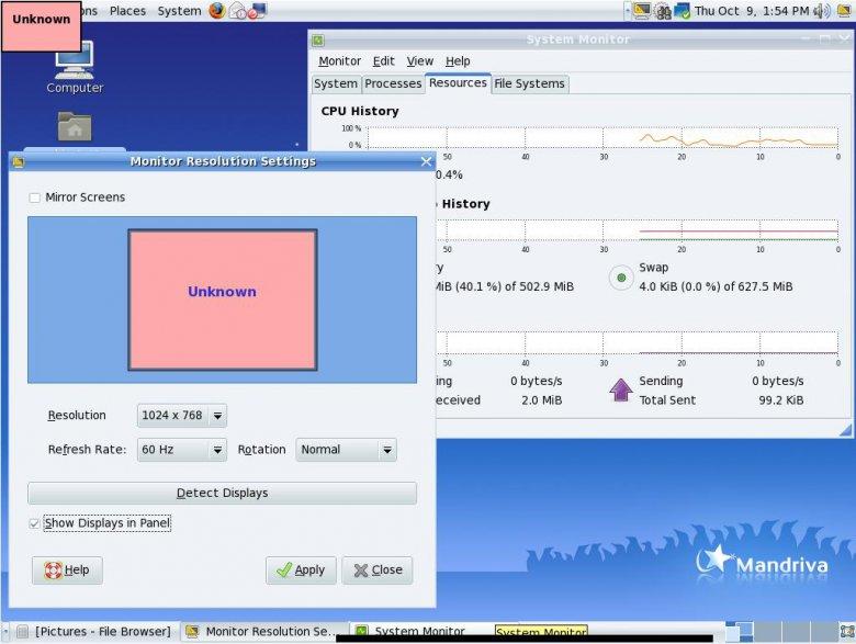 Mandriva Linux 2009 - GNOME