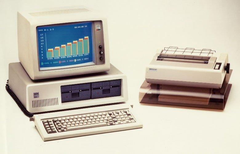 První IBM PC (ilustrační foto)
