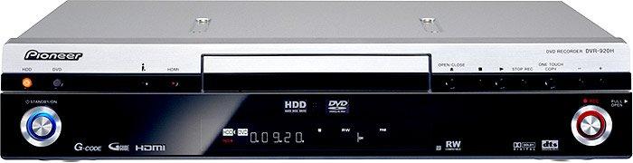 Pioneer DVR-920-S stolní DVD rekordér s HDD