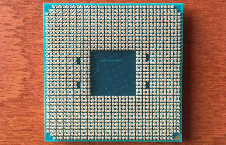 Amd Bristol Ridge Chip Backside
