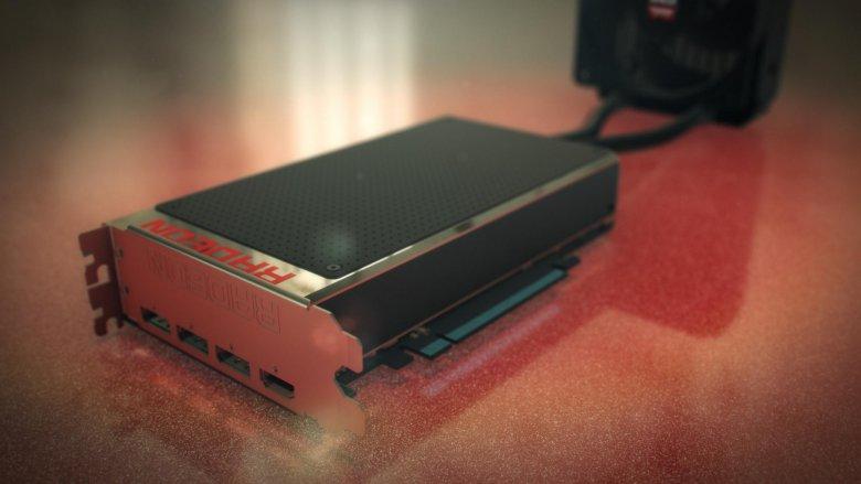 Amd Fiji Radeon Fury X Red Table
