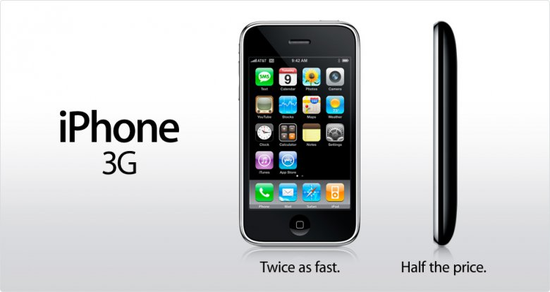 Apple Iphone 3 G Twice As Fast