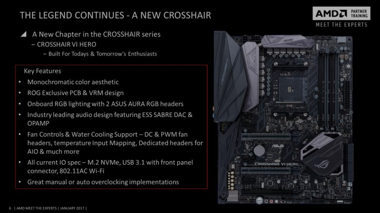 Asus Am 4 Motherboards Crosshair Vi Hero