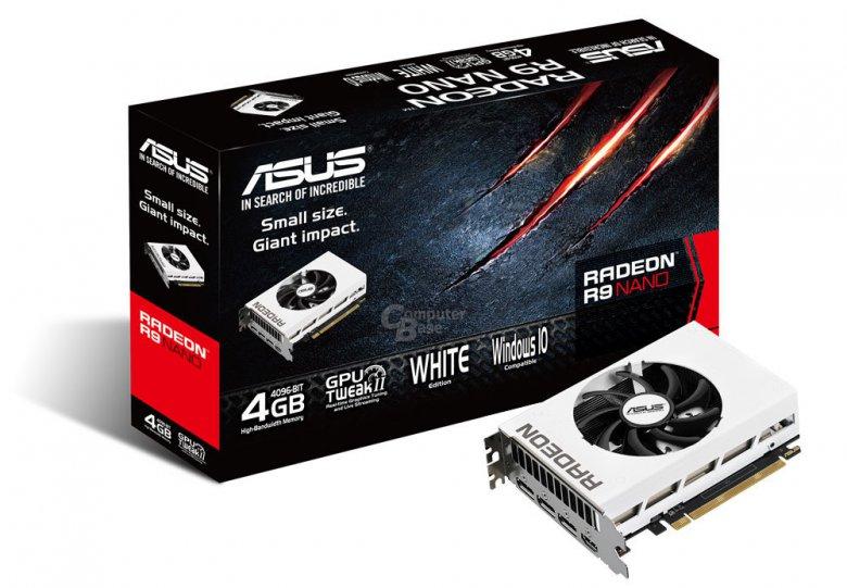 Asus Radeon R 9 Nano White Radeon Fury Nano 03