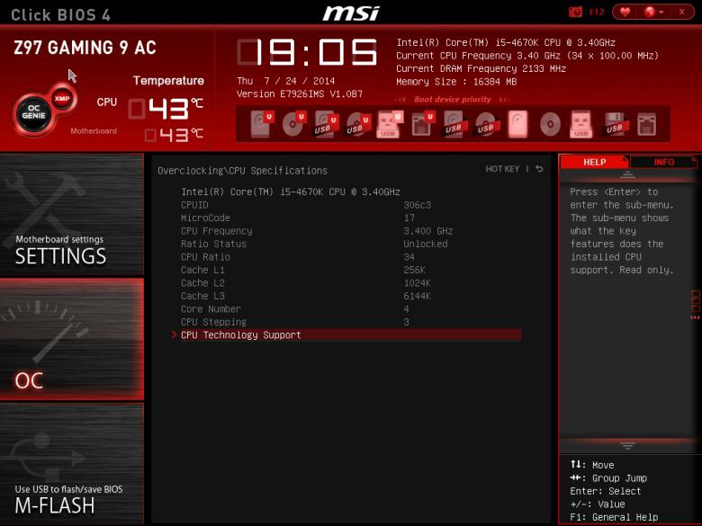 Core I 5 4670 K Msi Z 97 Msi Snapshot 02