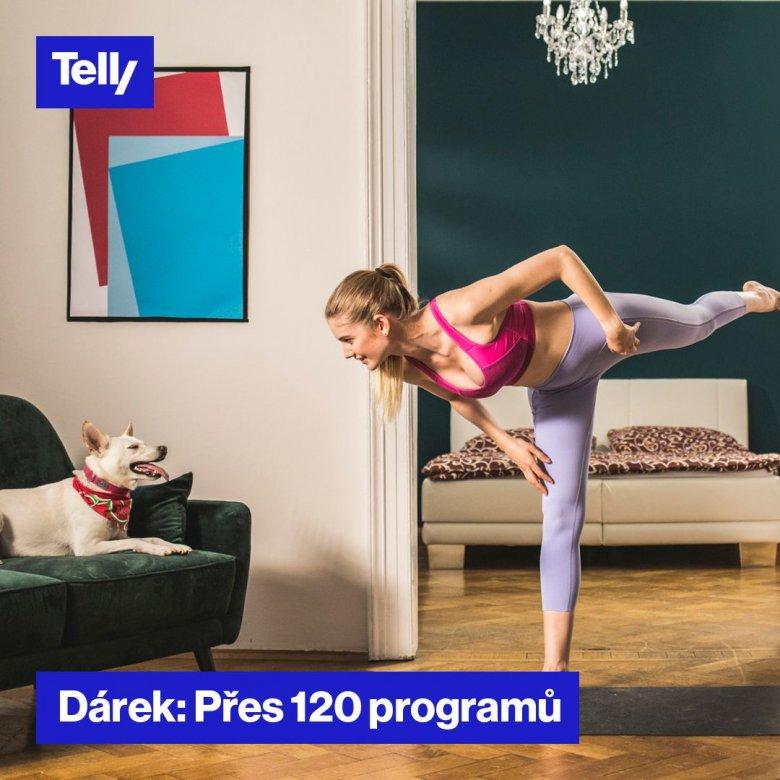 Dárek k internetové televizi Přes 120 programů