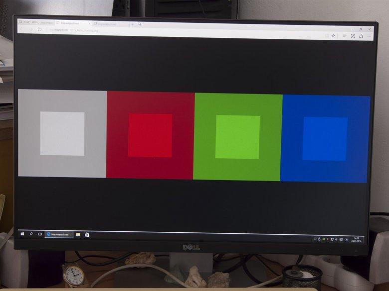 Dell U 2415 Barvy Jas 20 Kontrast 45