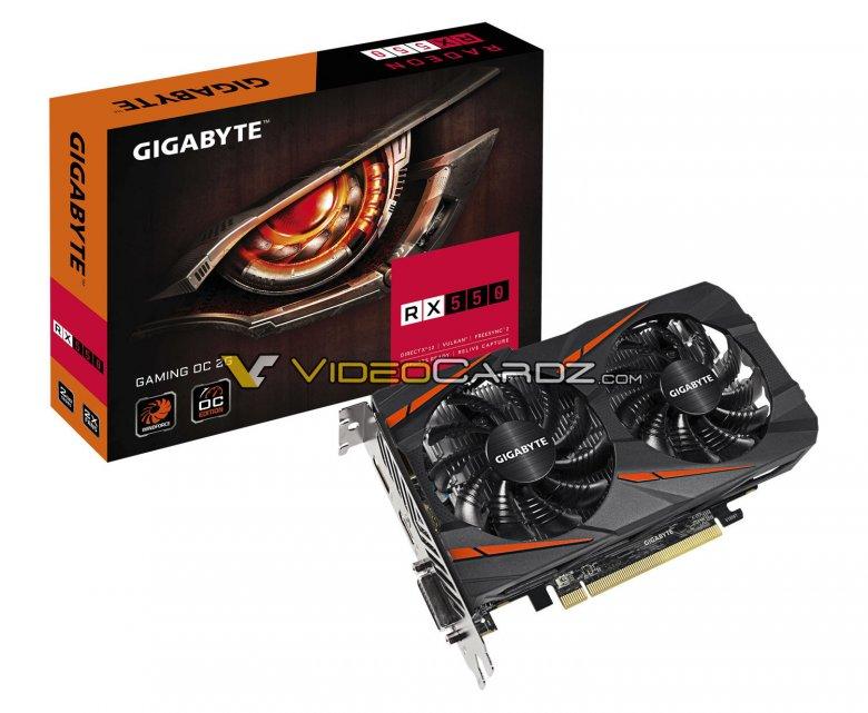 Gigabyte Radeon Rx 550 Gaming Oc 2 G