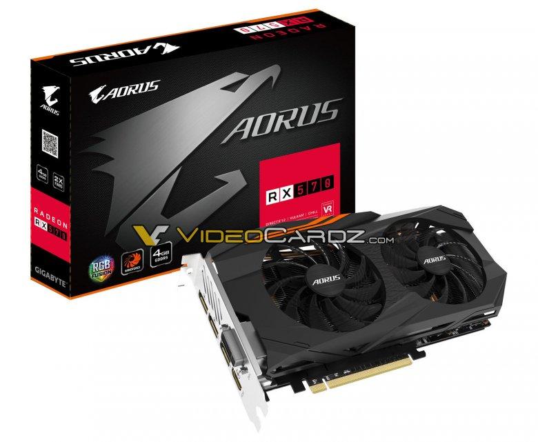 Gigabyte Radeon Rx 570 Aorus 4 G