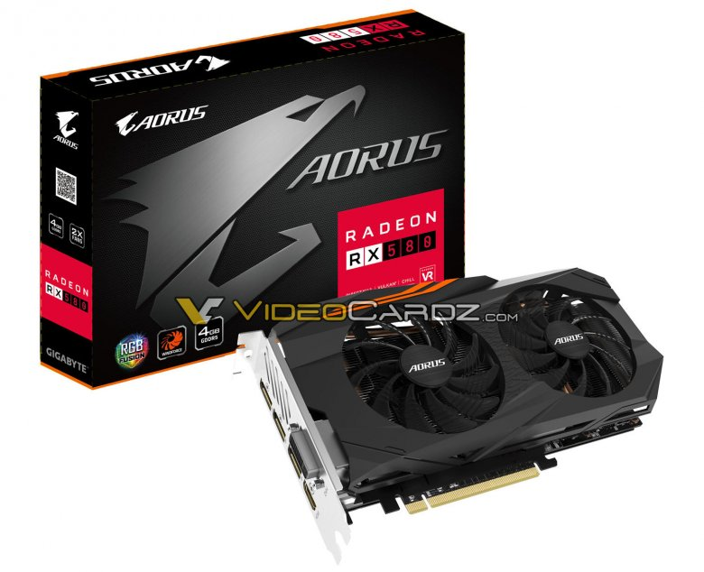 Gigabyte Radeon Rx 580 Aorus 4 G