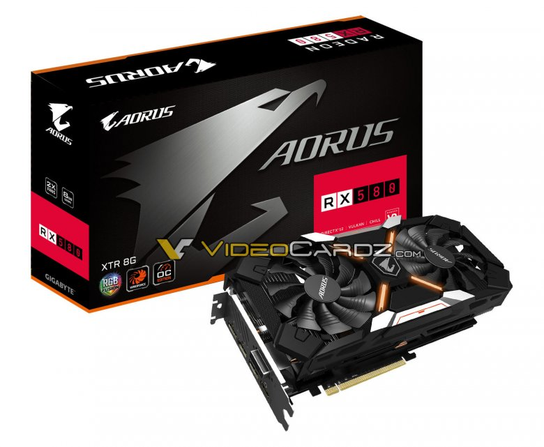 Gigabyte Radeon Rx 580 Aorus Xtr 8 G