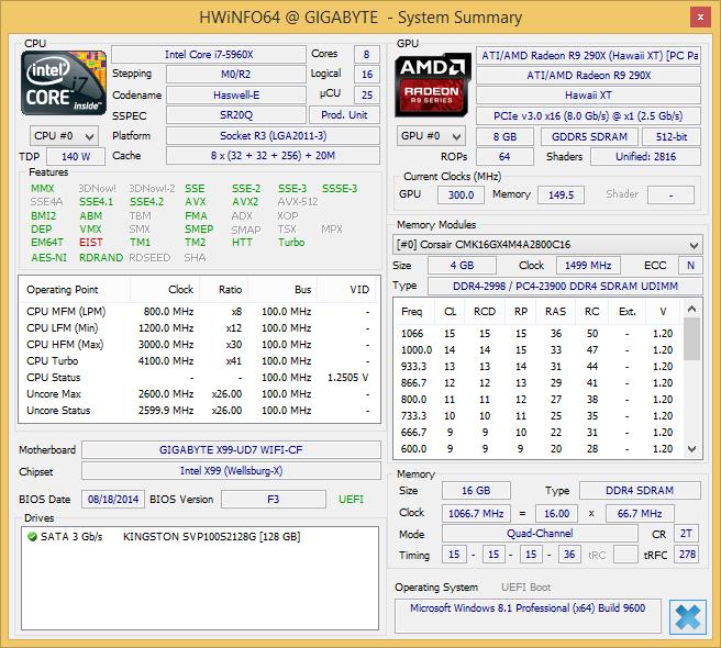 Hwi 64 290 X 8 Gb