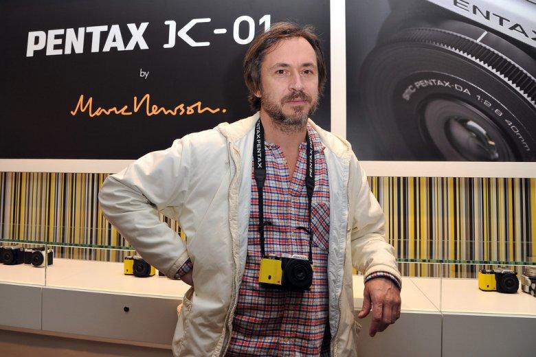 Marc Newson a Pentax K-01