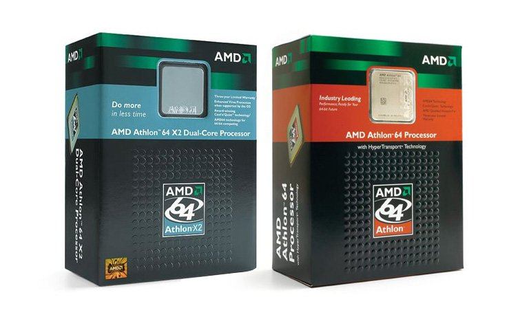 AMD K8 Athlon 64 X2 box