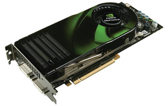 Nvidia GeForce 8800 GTX G80 referenční