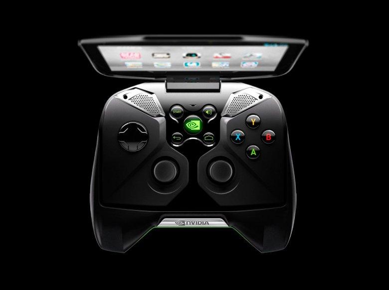 Nvidia Shield top view