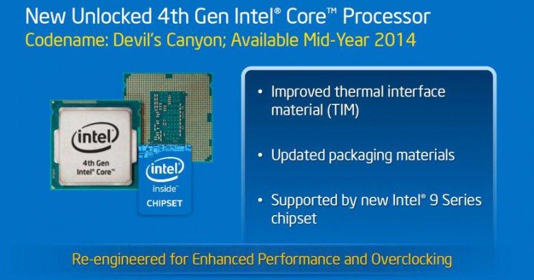 Intel Devils Canyon Tim